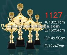 2012 metal trophy with 4 sizes