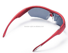 Young people outside Stereo bluetooth MP3 music sunglasses with polarized lens
