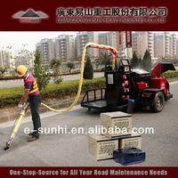 TE-I rubberized blacktop driveway sealant