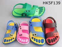 Wholesale PVC sandal with EVA five fingers outsole for men and children