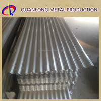 Hot Dip ASTM A653 Galvanized Corrugated Used Steel Roof Sheet