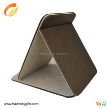 High quality and fancy bathroom PU Leather vanity mirror