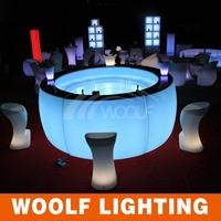 Indoor Attactive LED Plastic Lighting Pub Furniture