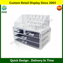 Acrylic Jewelry & Cosmetic Storage Display Boxes Two Pieces Set YM5-857