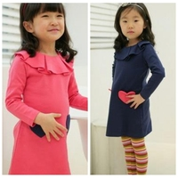 Online Shopping One Piece Girls Party Kid Cotton Dresses