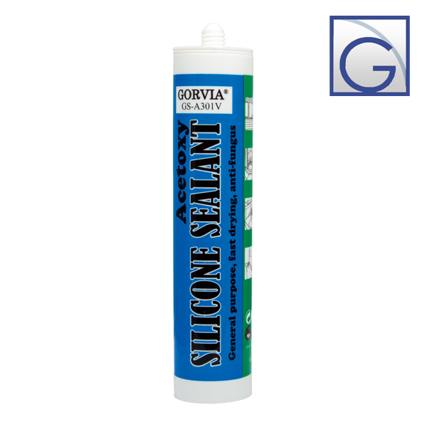 Cured acetic silicone sealant nhanh