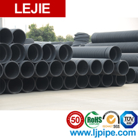 Hdpe underground perforated water pipes 300mm for drainage