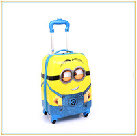2015 hot sale cheap price Minions cute designer kids luggage