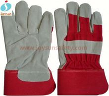 Safety equipment furniture leather gloves industrial leather hand gloves