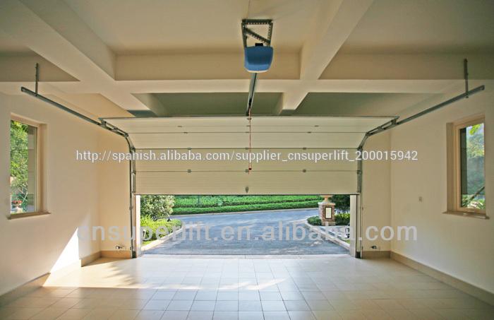 Overhead autom tica de garaje seccional puerta panel - Puerta de garaje automatica ...