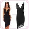 Ladies Official Dresses Customize Fashion Lady Dress Black