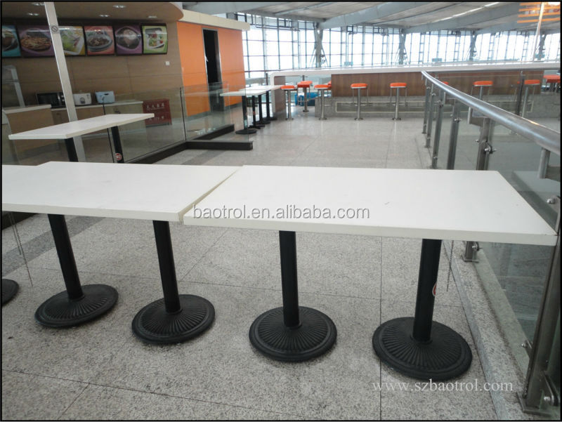 Wholesale Price Marble Restaurant Table And Chairartificial Marble - White marble restaurant table tops