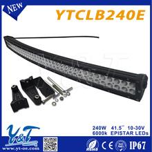 "india price 240w led light bar 41.5"" black light led driving lights high lumen"