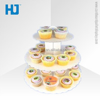 Sweet cup cake stand for wedding party