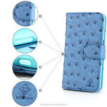 For Samsung Galaxy S6 Flip PU Leather Card Mobile Phone Case