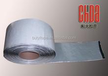 Custom cheap aluminum foil butyl mastic tape