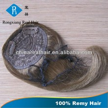 Wholesale 100% Human Hair remy clip in hair extension bangs