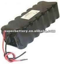 Ni-Cd SC 24V 3000mAh Rechargeable Battery Packs with clearance price
