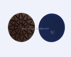 """4"""" Sunflower Diamond Polishing Pads for Marble, Granite, Concrete Floor"""