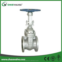 Cast Steel rising stem gate valve with Class 150 to class 1500