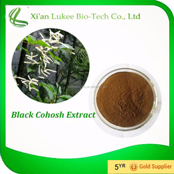 Pure Natural Black Cohosh P.E./Black Cohosh Herb Extract Triterpene glycosides