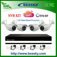 TOP Sale H.264 Wireless NVR Kit,wifi security camera,camera bags on sale