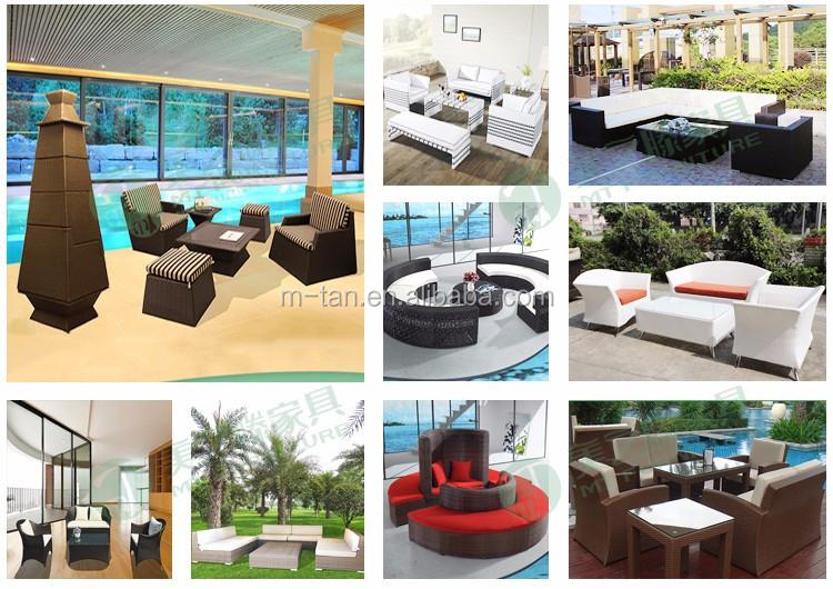 Meubles de jardin en plein air/polywood à manger table et chaise/jardin extérieur salle à manger ensemble