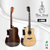 41 inch Solid Spruce Cutaway acoustic guitar rosewood with fish bone binding (L-890S)