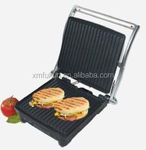 2 Slice Stainless Steel Housing Sandwich Press Panini Grill
