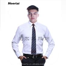 2015 Design uniforme escritório camisas brancas