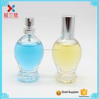 Tailor Made so cute 30ml crystal ball egg shape glass perfume fragrance bottle with pump spray