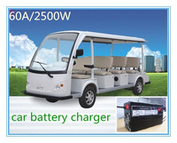 2500W 60A AC to DC Charging Station Electrical Vehicle (EV) car Battery Charger