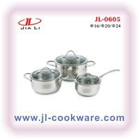 Cut Edge cookware set(JL-0605)NEW PRODUCT utensilios de cocina