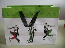 Cheap reusable craft paper bag shopping bags