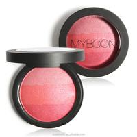 MYBOON Blush Palette Cosmetic Face Makeup Silky Texture Baked Velvet Blusher Maquiagem De Marque 10g Balm