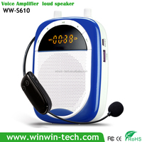 Professional wireless microphone portable voice amplifier silicon mobile sound cell phone amplifier/speaker