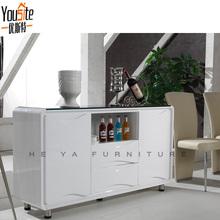 modern kitchen buffet gloss white wooden sideboard