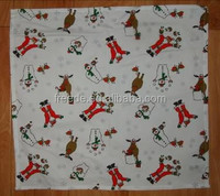 New Design 100%cotton Christmas printed Table Cloth 130x220, kitchen sets
