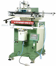 High Precision Automatic long shafts Cylinder Screen Printing Machine for fish pole, golf clubs, cue with long printing size