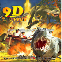 Proffesional theater manufacturer 7d interactive game,7d game machine simulator with PLC control system and best price