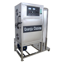 air or oxygen source ozone water machine purifier with air cooling