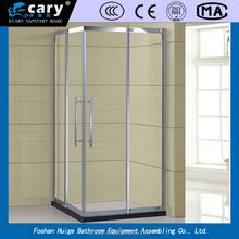 square shower enclosure ,glass shower screen