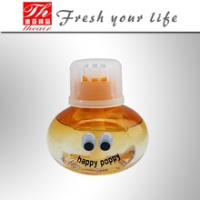 Happy Poppy Glass Bottle Car air freshener brand perfume