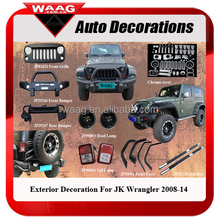 China Wholesale 4X4 Auto Accessories For JK Wrangler 2008-14