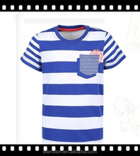 OEM Supply,Latest Design Fashion Style Stripe Children Summer Clothes 2015 With Packet