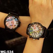 Relojes de marcación pintada americana comics relojes de estudiantes
