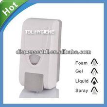 orange soap dispenser