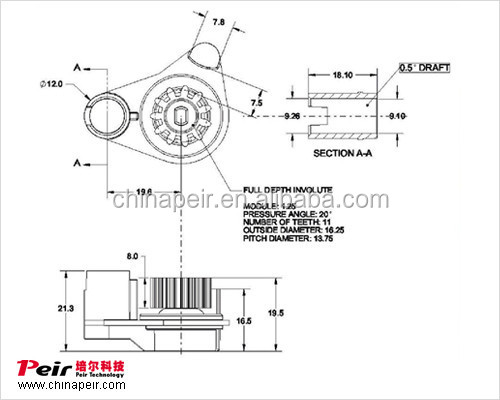 Rotary Damper Design Buffer Gear Rotary Damper
