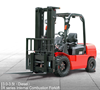 CPCD35 Material Handling Equipment 3.5 ton ep equipment forklift truck