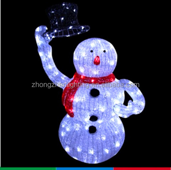 Outdoor high quality christmas home decor light up snowman for Quality outdoor christmas decorations